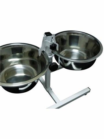 Подставка с мисками для кормления животных Fetras