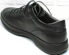 Осенне весенние кроссовки туфли спортивные мужские Ikoc 1725-1 Black.