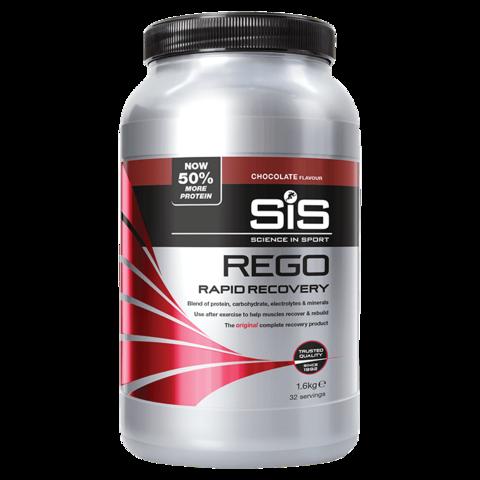 SiS Rego Напиток восстановительный углеводно-белковый в порошке, вкус Шоколад , 1,6 кг