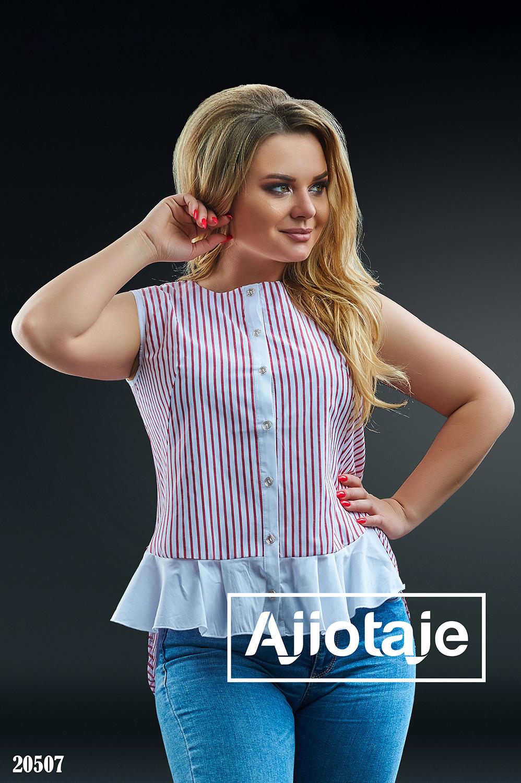 Рубашка в вертикальную полосочку