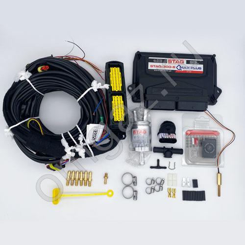 Миникит Stag 300 QMAX PLUS c OBD 6 цил.