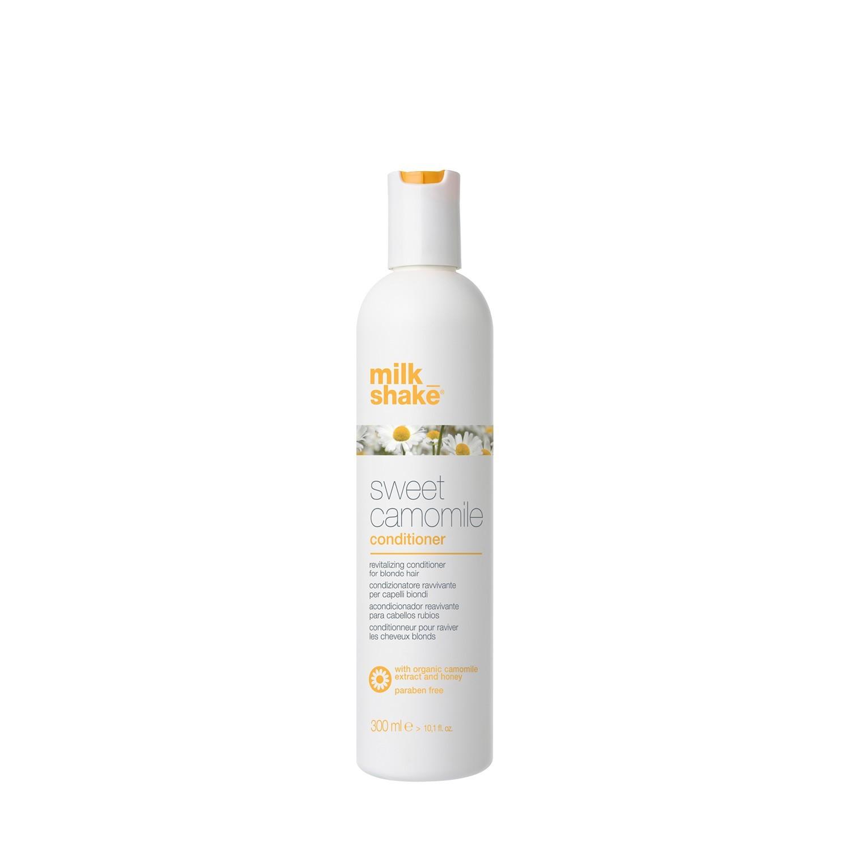 Кондиционер с экстрактом ромашки для блеска волос / Professional hair conditioner Milk Shake sweet camomile 300 мл