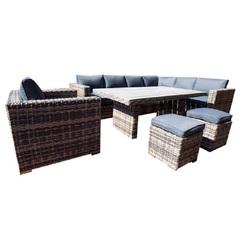 Комплект мебели из ротанга уголок Сан-Ремо