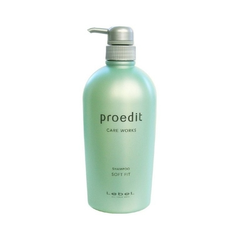 Шампунь для жестких  волос  PROEDIT SHAMPOO SOFT FIT, 700 мл.