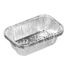 Форма из алюминия (3 шт) прямоугольная 13,5х8,5х4 см, для приготовления и хранения пищи