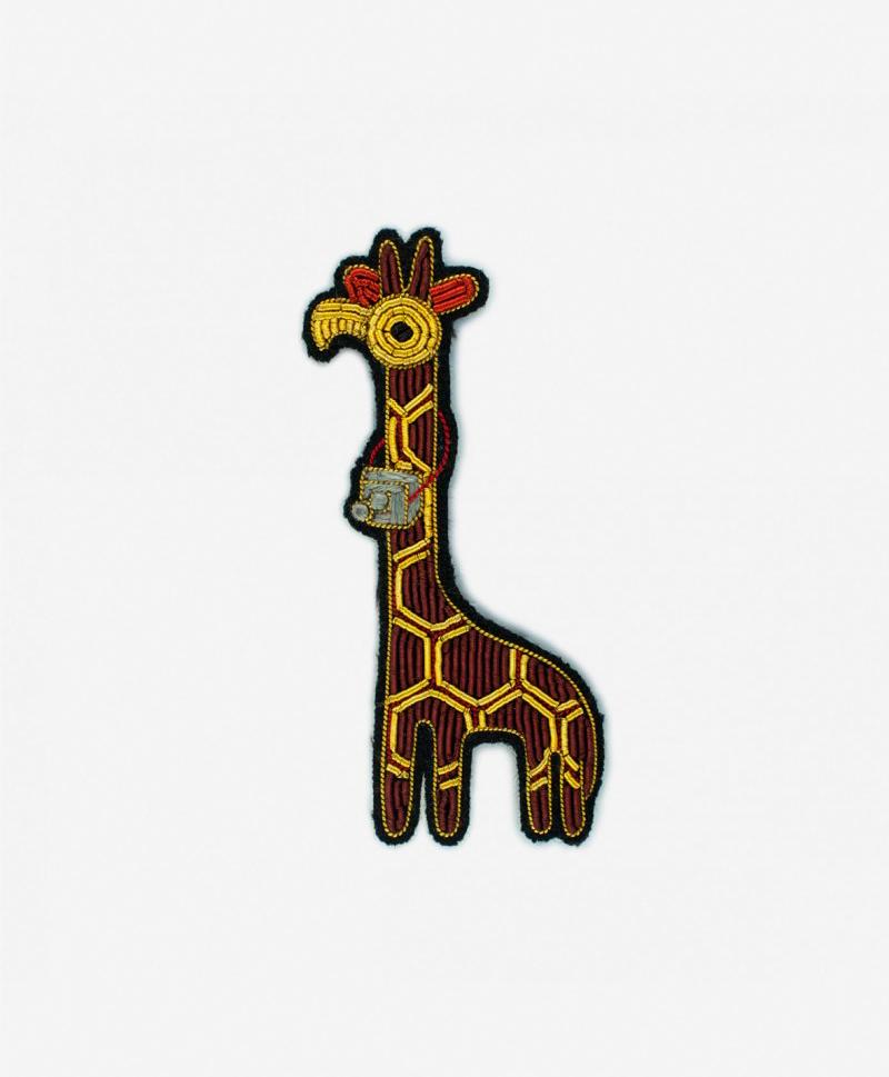 Брошь Giraffe