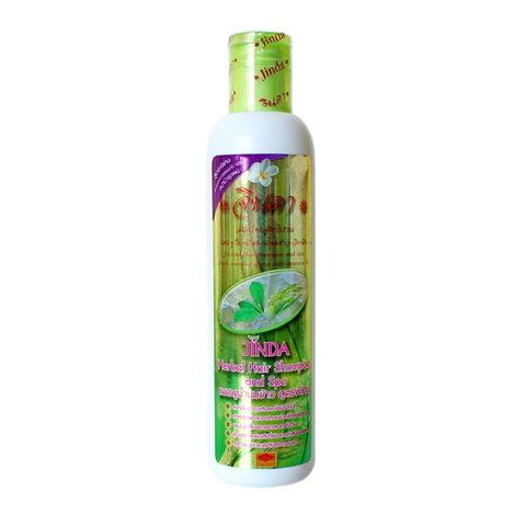 Шампунь от выпадения волос с рисовым молочком Jinda Herbal Shampoo & Spa, СПА серия