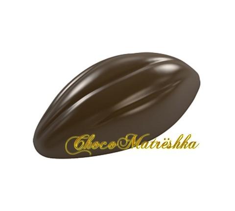 Форма поликарбонатная для шоколадных конфет - Какао-бобы