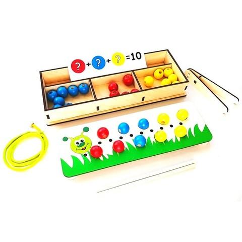 Игровой набор Собери гусеницу Крона 170-015