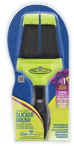 Furminator FURminator пуходерка мягкая маленькая двухсторонняя Small Soft Slicker зубцы 15 мм b821eff7-5089-11e5-80ce-00155d298300.jpg