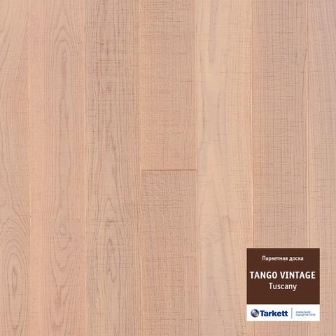 ПАРКЕТ Tarkett  Tango Vintage Тоскана, 550129005, 2215х164х14мм, 6шт/2,18 м2, фаска с 4-х сторон