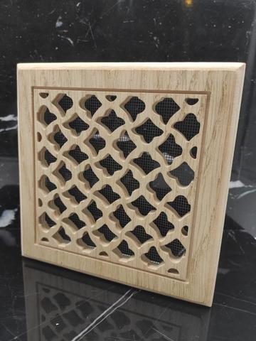 Решетка декоративная деревянная на магнитах Пересвет К-30 150х150мм