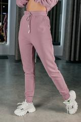 Розовый спортивный костюм женский оптом