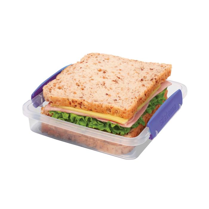 """Контейнер для сэндвичей Sistema """"KLIP IT"""" 450 мл"""