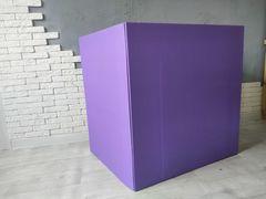 Коробка для шаров (Фиолетовая) 60*60*60 см.