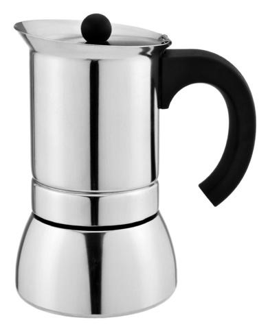 Кофеварка Italco Napoli Induction 0.16л нерж.сталь серебристый (205400)