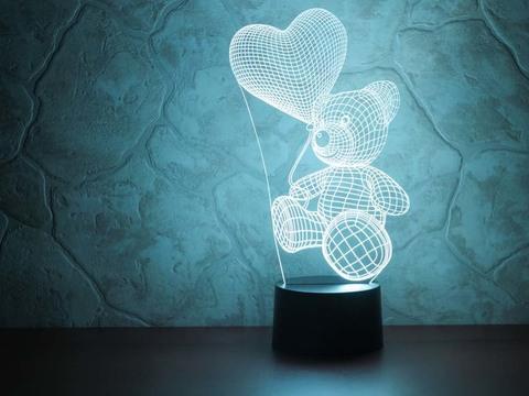 Art-Lamps Абстракция Медвежонок с шариком