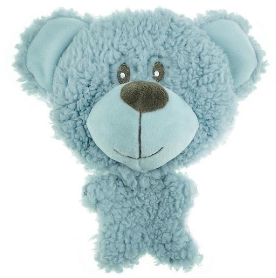 Игрушки Игрушка для собак, AROMADOG BIG HEAD, Мишка 12 см голубой WB16954-1.jpg