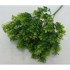 Искусственная зелень самшит Кавказский, букет 5 веток, 35 см.