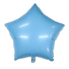 Звезда Матовая голубая (Макарунс)