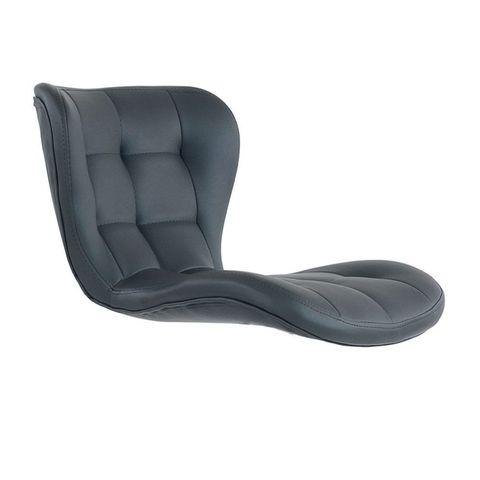 Сиденье для барного стула Porsche/Порше, экокожа, серое (сидение)