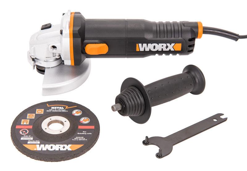 Угловая шлифовальная машина WORX WX712 860Вт