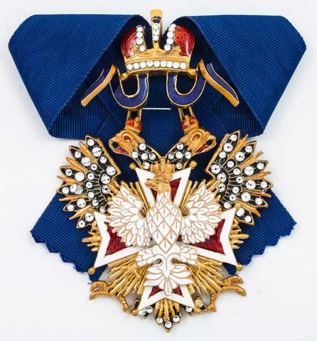 Орден Белого орла со стразами (копия)