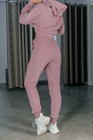 Розовый спортивный костюм женский недорого