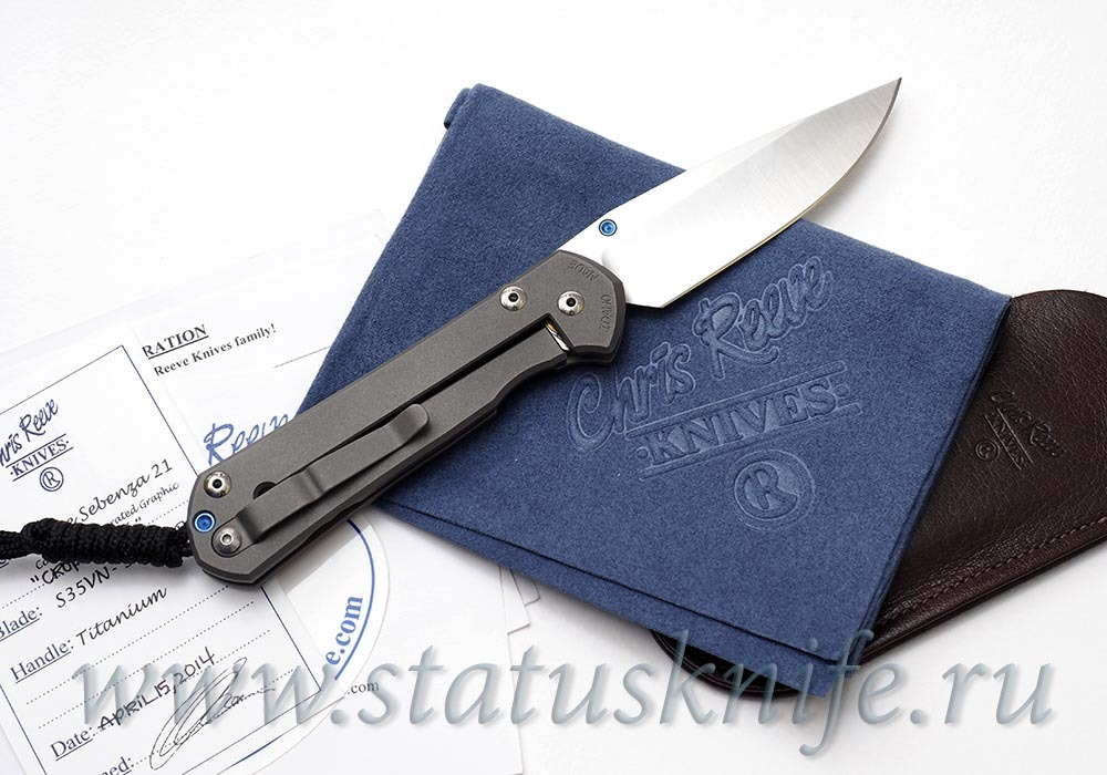 Нож Chris Reeve Large Sebenza 21 CGG Crop Circles - фотография