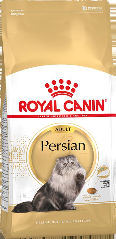 Сухой корм Корм для кошек Royal Canin Persian adult, для кошек персидской и экзотической короткошерстной породы в возрасте от 1 года и старше persianadult.png