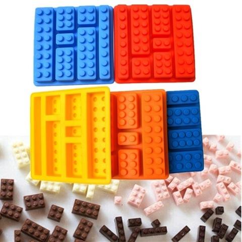 Форма силиконовая Лего для льда