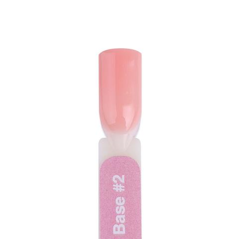 BFCB2-4 Гель-лак для покрытия ногтей. Камуфлирующая база бежево-розовая