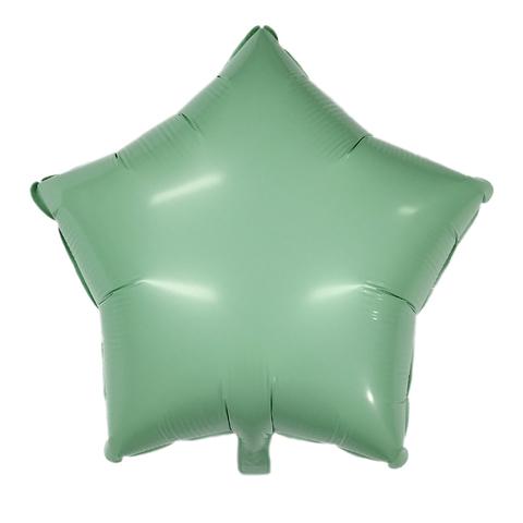 Звезда Матовая зелёная (Макарунс)