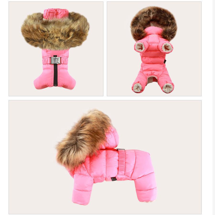 зимняя одежда puppyangel