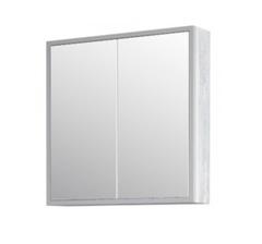 Зеркало-шкаф Corozo Айрон 60, серый