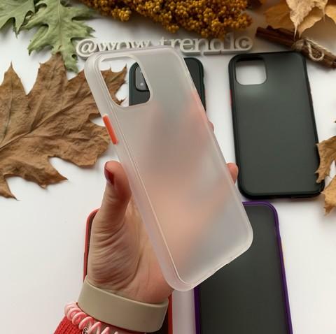 Чехол iPhone 12 Pro Max /6,7''/ iPaky Cucoloris /white/