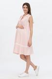 Платье для беременных 09586 розовый