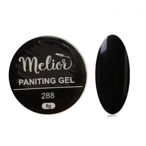 Гель-краска Melior №288 (чёрная)