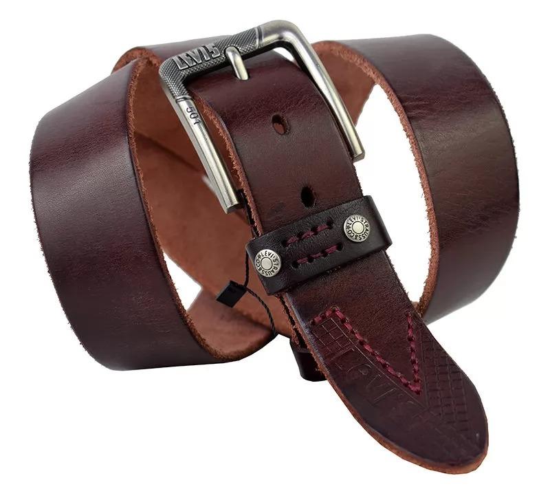 Мужской кожаный ремень Levis 40161