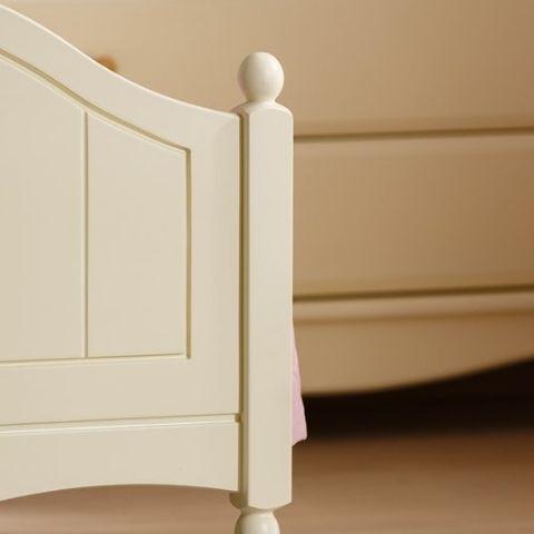 Кровать Айно 5 (желтая пастель)