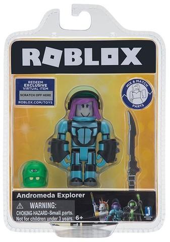 Игровая коллекционная фигурка Jazwares Roblox Core Figures Andromeda Explorer