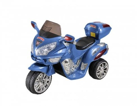 Электромотоцикл Rivertoys Moto HJ 9888 синий