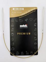 Спицы круговые супергладкие металлические Addi 40 см 3.0 мм