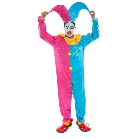 Карнавальный костюм взрослый  Шут (арлекино)