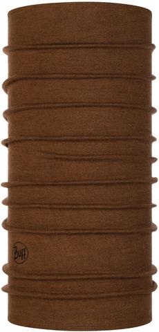 Шерстяной шарф-труба Buff Wool midweight Tundra Khaki Melange фото 1