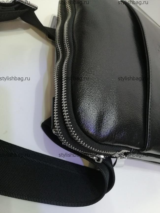 Мужская сумка через плечо Hugo Boss 2488 Black