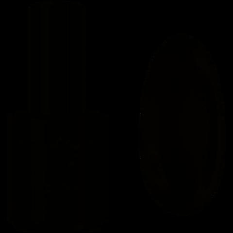 NeoNail Expert Гель лак 15 мл Pure Black 7512 (2996)