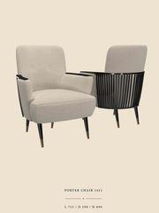 Кресло Porter Armchair