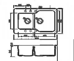 Схема Omoikiri Maru 86-2-CH