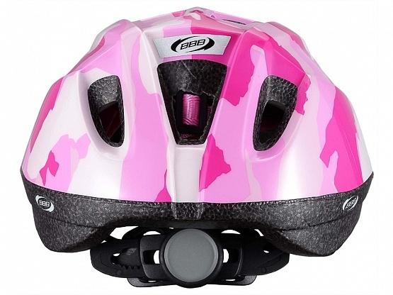 Летний шлем BBB Boogy камуфляж розовый
